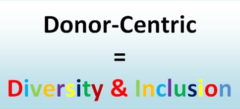 Donor-centric=DiversityandInclusion